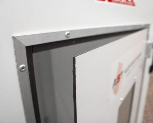 Binkee sluissystemen - Deur/ paneel enkelvoudig profiel