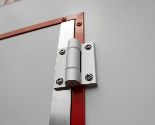 Binkee sluissystemen - Aluminium scharnier incl. deurveer