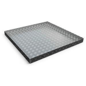 Binkee accessoires - Aluminium douchebak